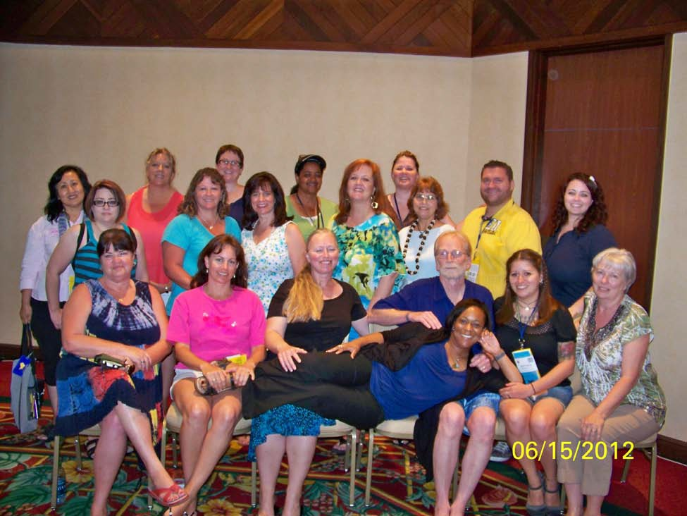 group photo of SaVRID members at the 2012 RID Region V Conference in Hawaii