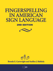 Fingerspelling in American Sign Language book