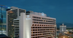 Exterior photo of Hilton at Salt Lake City Center