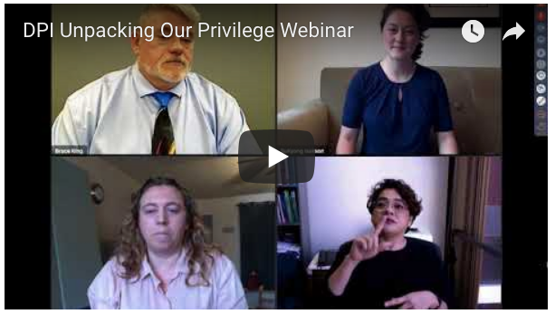 DPI Unpacking Our Privilege