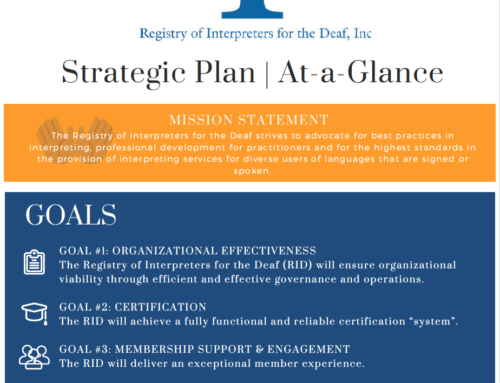 2018 Strategic Plan At-a-Glance