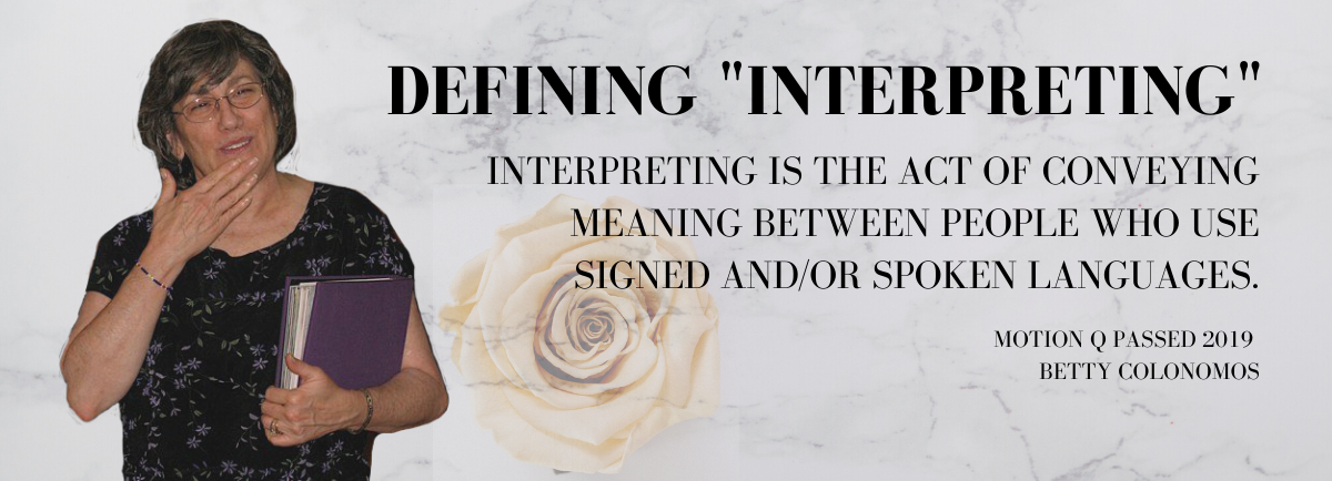 Definition of Interpreting