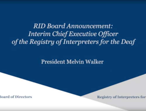 New Interim CEO and Rhode Island FTF Board Meeting Update