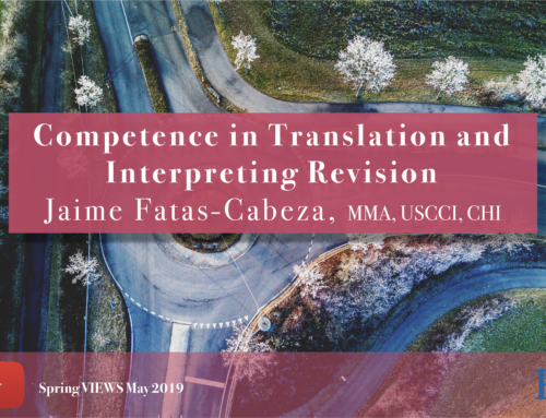 Competence in Translation and Interpreting Revision