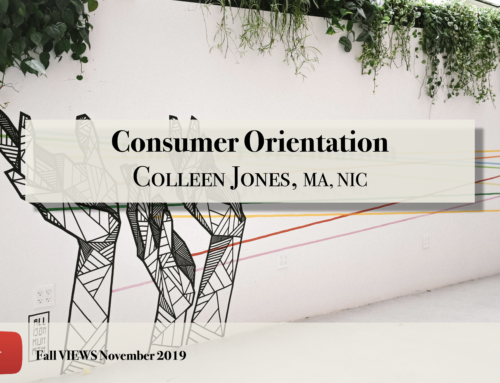 Consumer Orientation VIEWS Fall 2019
